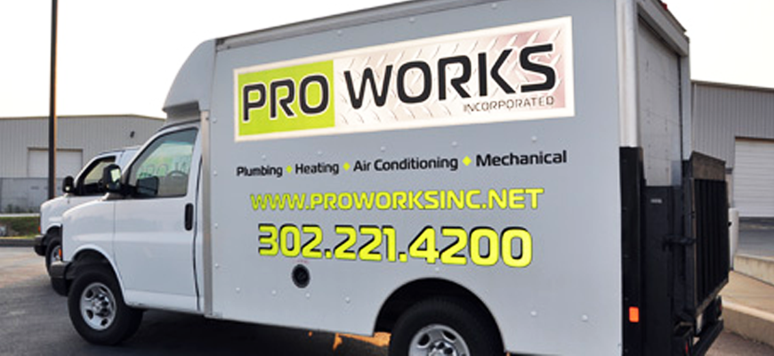 ProWorks - skilled plumbing, heating, air conditioning, and mechanical contractors and with more than 60 years of combined experience